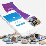 موبایل و مجموعه ای از لوگوهای شبکه های اجتماعی- آژانس تبلیغاتی کربن- تبلیغات دیجیتال