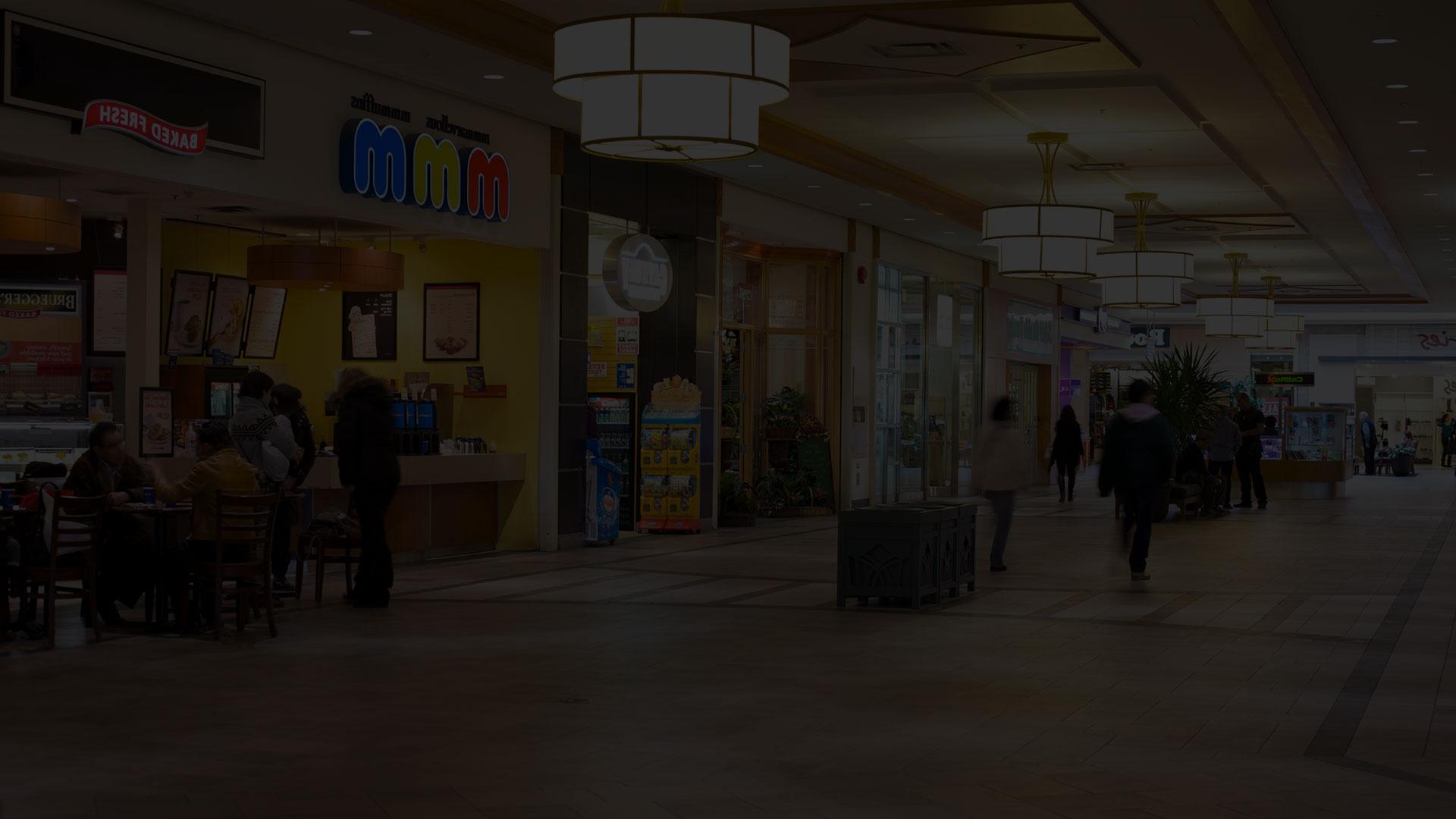 راهرو مرکز خرید- آژانس تبلیغات کربن- دیجیتال مارکتینگ- تبلیغات- دیجیتال