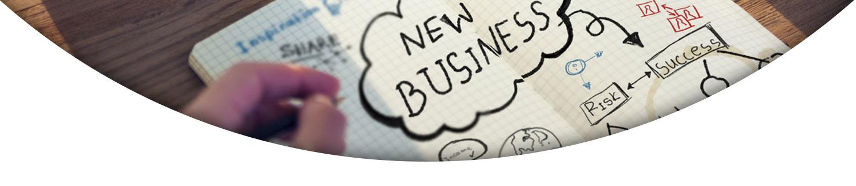 نوشته های کارتونی Business plan- آژانس تبلیغات کربن