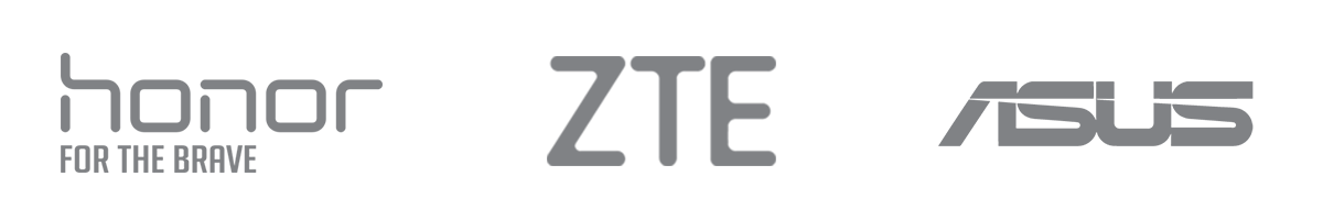لوگو Honor,ZTE,Asus- آژانس دیجیتال کربن- تبلیغات- تبلیعات دیجیتال- دیجیتال مارکتینگ
