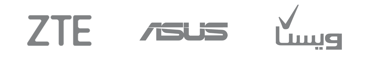 لوگو ZTE,Asus,ویستا - آژانس دیجیتال کربن- تبلیغات دیجیتال- دیجیتال مارکتینگ