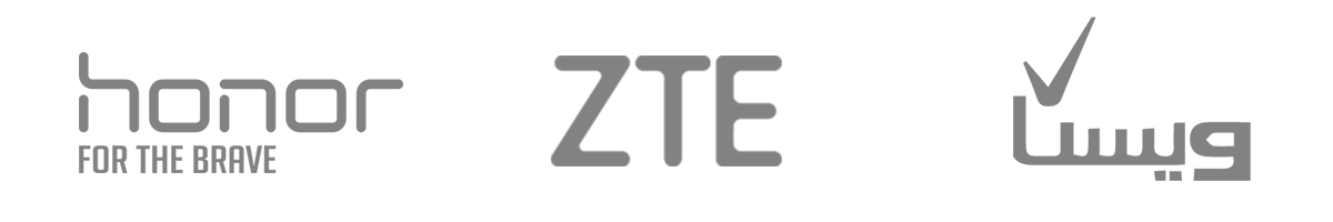 لوگو Honor,ZTE,ویستا- آژانس تبلیغات کربن- تبلیغات- تبلیعات دیجیتال