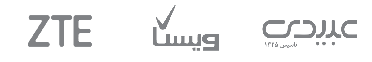 لوگو عبیدی,ZTE,ویستا- آژانس دیجیتال کربن- تبلیغات- تبلیعات دیجیتال