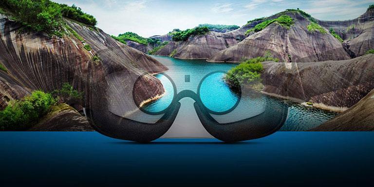 طبیعت از دید هدست واقعیت مجازی- تکنولوژی - آژانس کربن - آژانس تبلیغاتی- Hightech - فناوری روز- فناوری