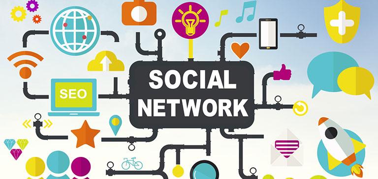 شبکه های اجتماعی اینترنتی متصل به محتوای شبکه اجتماعی- آژانس تبلیغاتی کربن